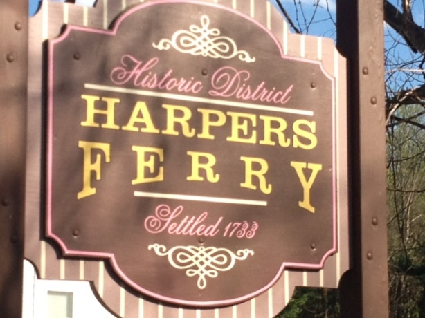 Short ride to Harpers Ferry