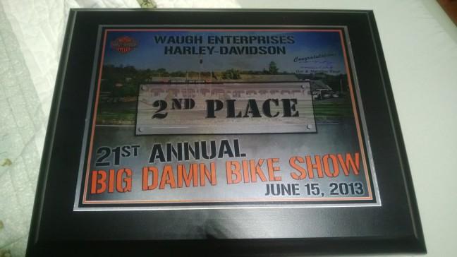 Bike Show Award