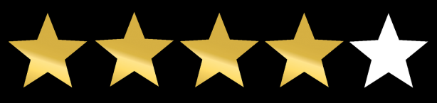 4 out 5 stars