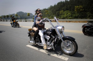 "Harley Davidson in China (from ""The Alantic"")"