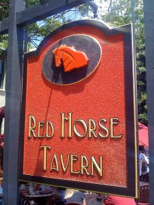 Lunch at Red Horse Tavern