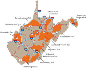 West Virginia Motorcycle Tourism