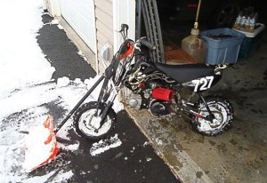 Motorcycle-Snow-Plow