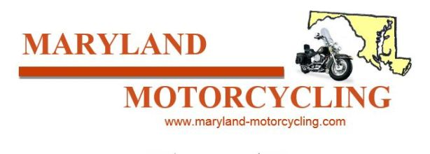 motorcyle touring, maryland, motorcyle riding