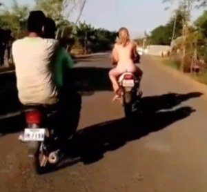Ride naked...get deported!