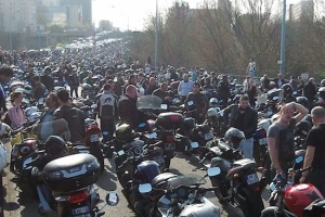 Generic French Motorcycle Protest