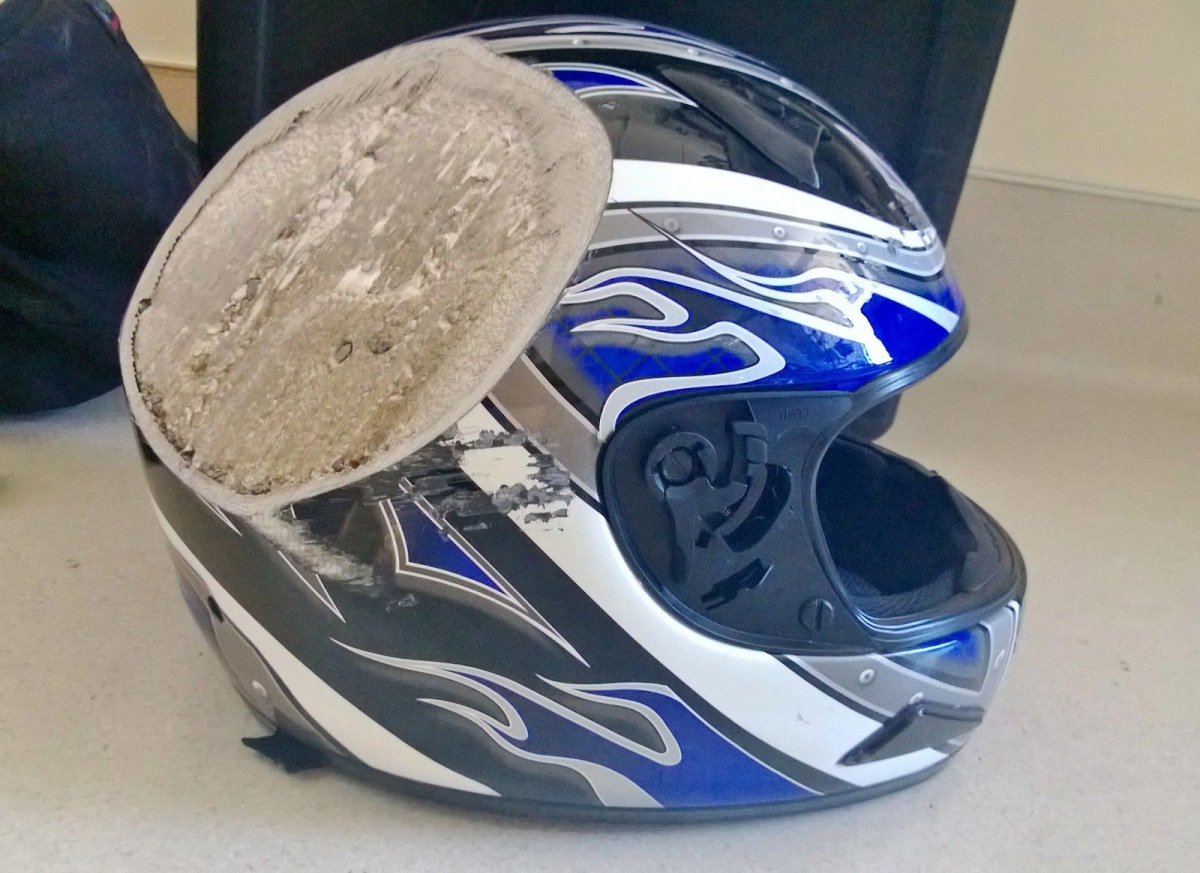 April is Motorcycle Helmet Safety Month