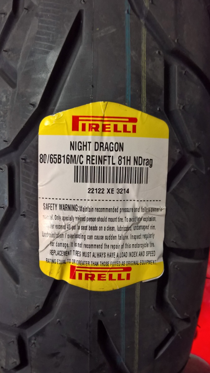 Motorcycle Product Review: Pirelli Night Dragon Motorcycle Tires