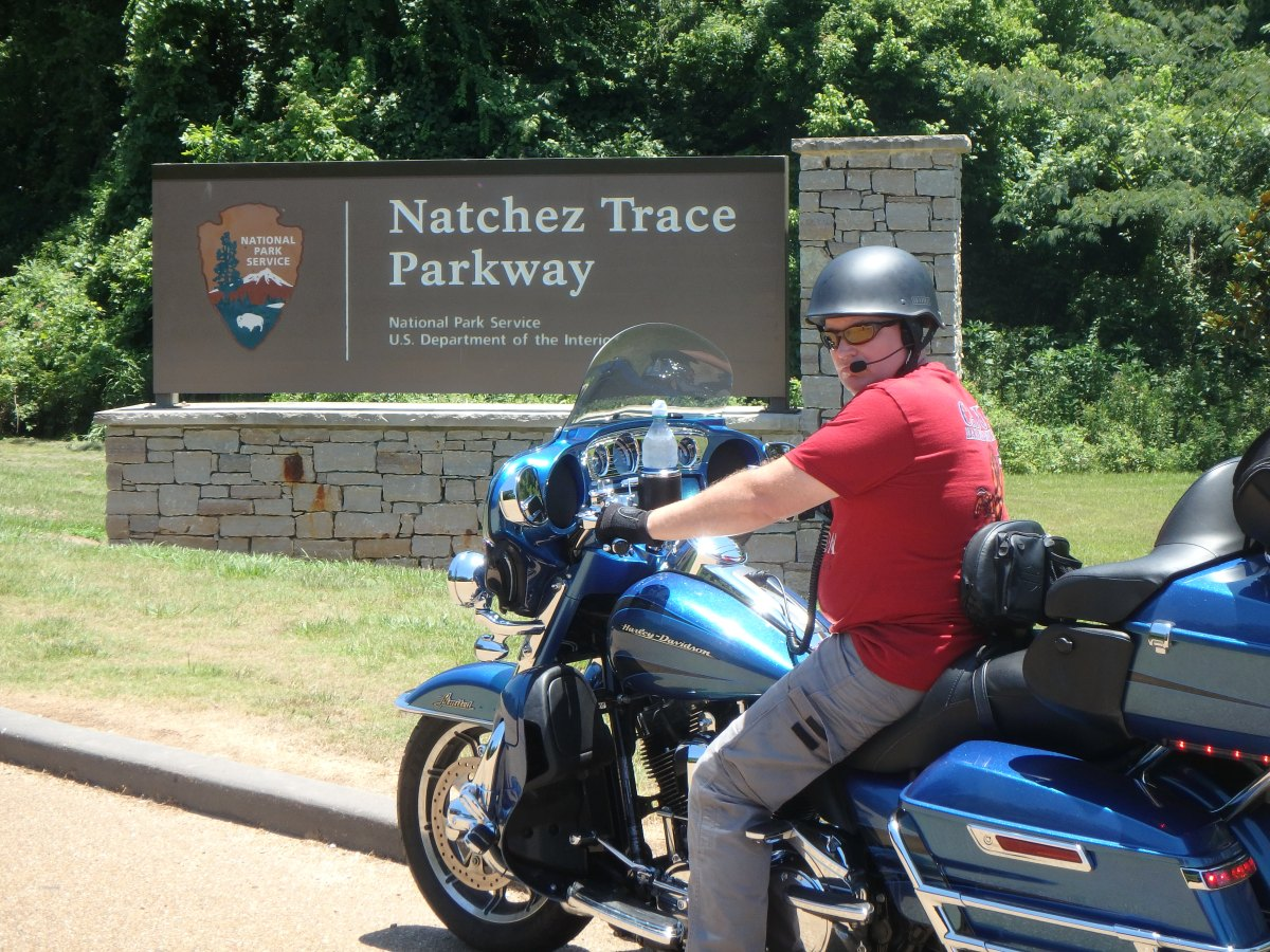 Motorcycle vacation: Riding the Natchez Trace Parkway