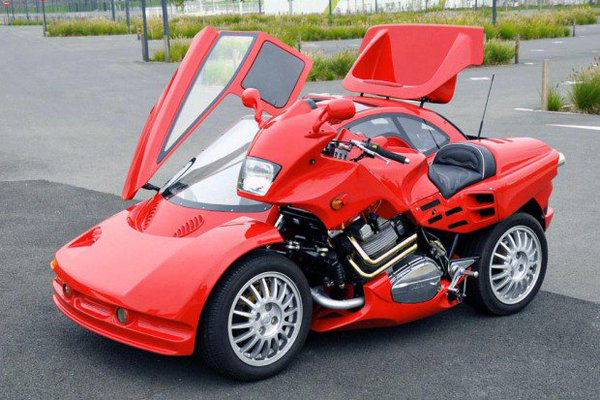 weird motorcycles 2016