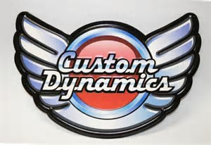 custom dynamics logo