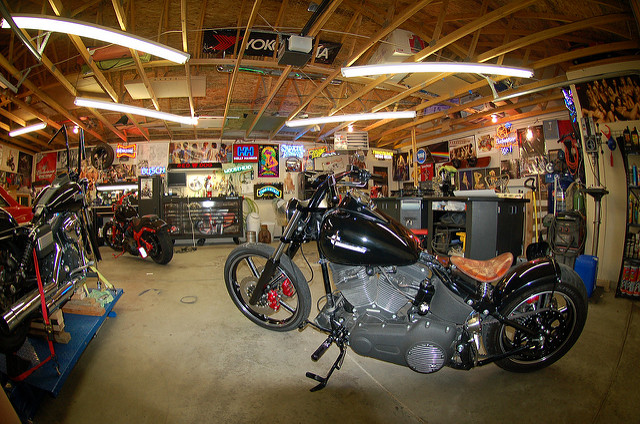 how to build the perfect motorcycle garage guest post by jason mueller i just want 2 ride. Black Bedroom Furniture Sets. Home Design Ideas