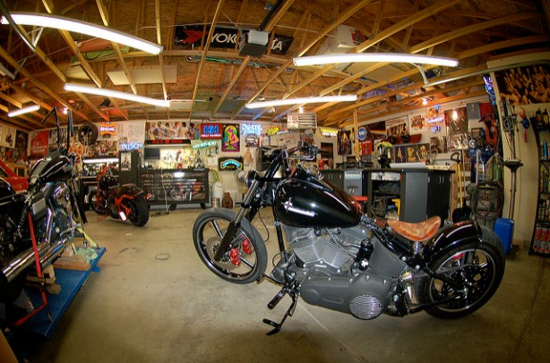 Motorcycle Service Garages : How to build the perfect motorcycle garage guest post by