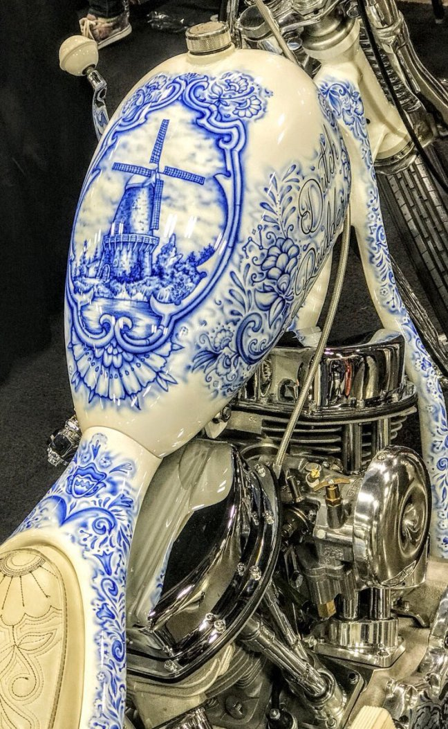 best Motorcycle tank art