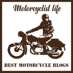 Badge for top motorcycle blogs