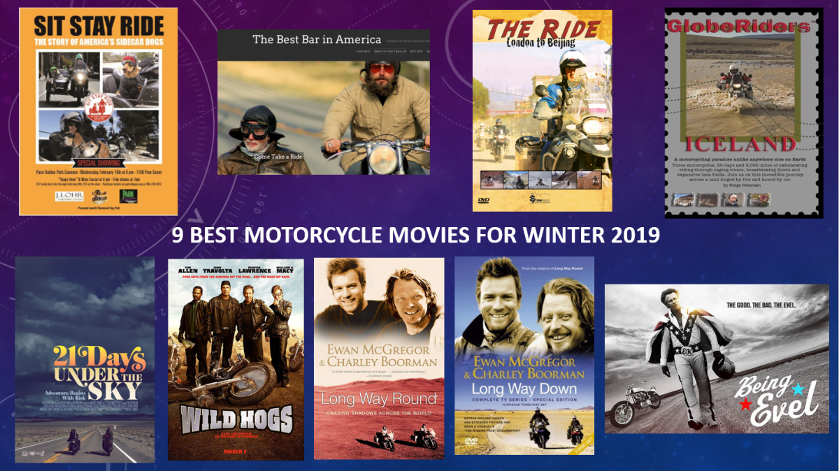 9 Best Motorcycle Movies for Winter 2019